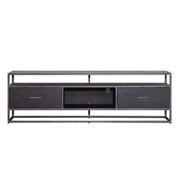 Eleonora TV-Möbel Hudson 185 cm - schwarz