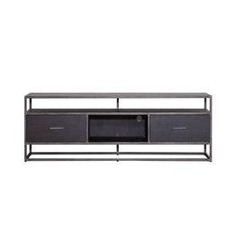 Eleonora TV-Möbel Hudson 150 cm - schwarz
