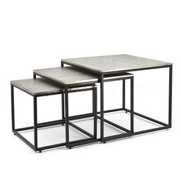 By-Boo Coffeetable set Trapeze - square