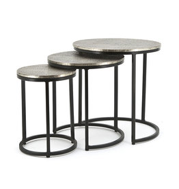 By-Boo Coffeetable set Trapeze - round