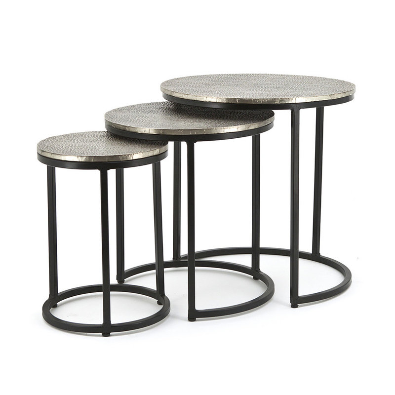 By-Boo By-Boo Coffeetable set Trapeze - round