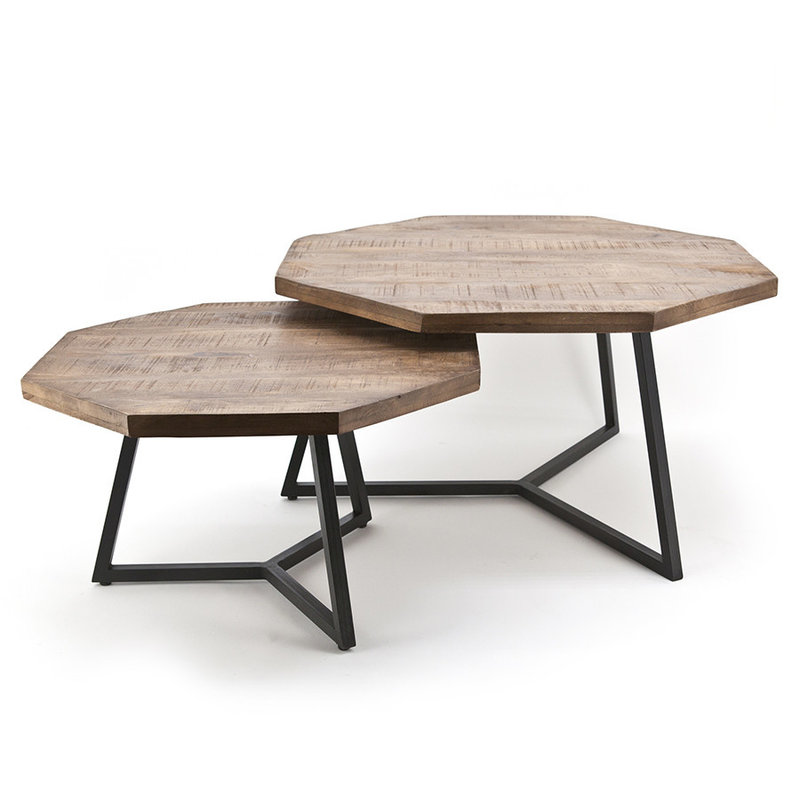 By-Boo By-Boo Coffeetable set Octagon