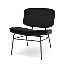 By-Boo Lounge chair Vice - black