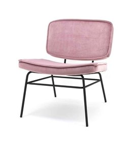 By-Boo Lounge chair Vice - old pink