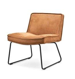 By-Boo Lounge chair Montana - cognac touareq
