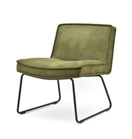 By-Boo Lounge chair Montana - green touareq