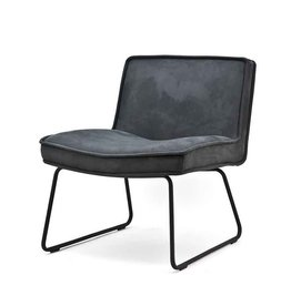 By-Boo Lounge chair Montana - anthracite touareq