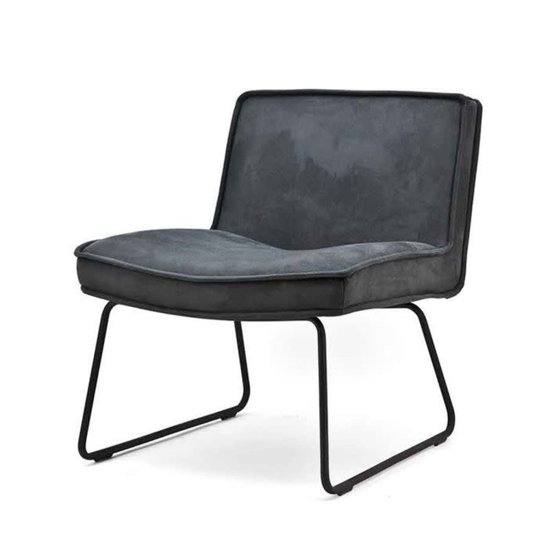 By-Boo By-Boo Lounge chair Montana - anthracite touareq