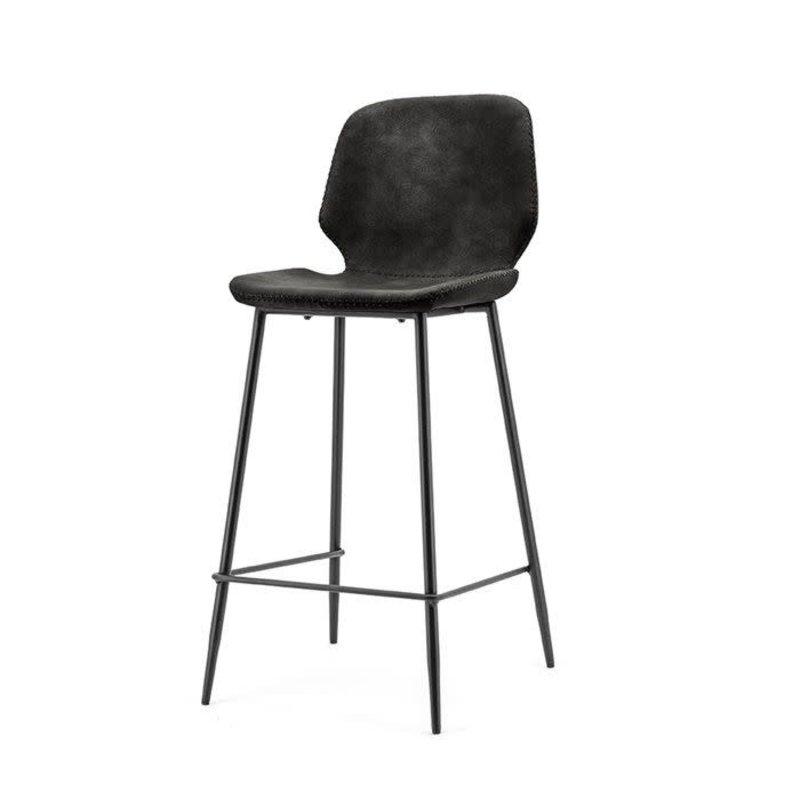 By-Boo By-Boo Bar chair Seashell low - black