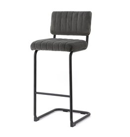 By-Boo Bar chair high Operator - grey
