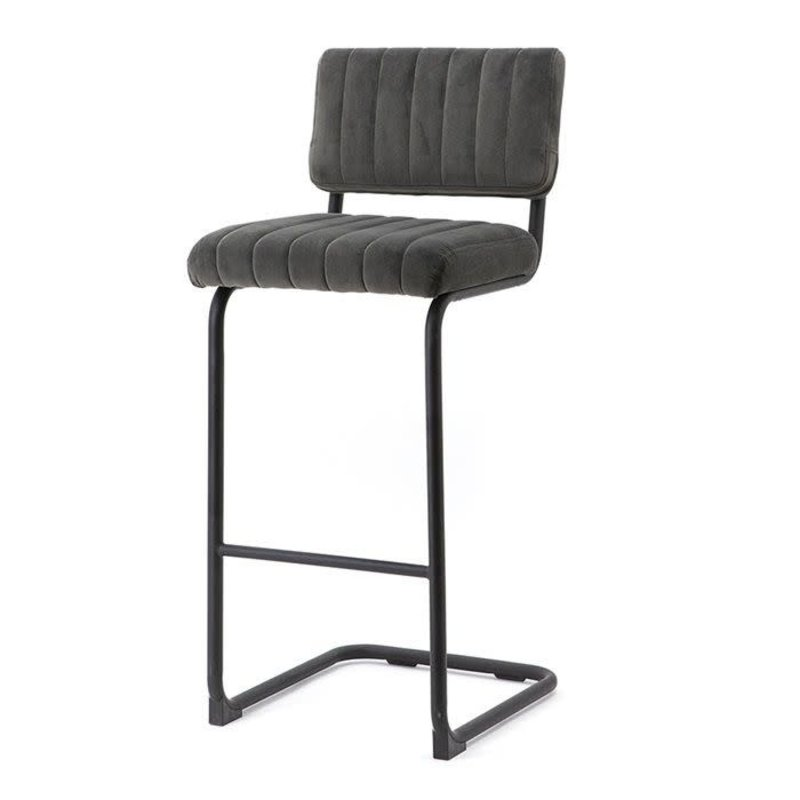 By-Boo By-Boo Bar chair high Operator - grey