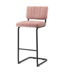By-Boo Bar chair high Operator - old pink