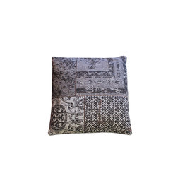 By-Boo Pillow Patchwork 50x50 cm - grey