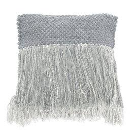 By-Boo Pillow Kyloe 45x45 cm - grey
