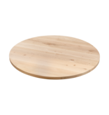 Balemo Ronde eikenhouten eettafel XX-poot
