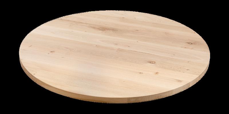 Balemo Runder Esstisch aus Eichenholz xx OAK