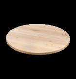 Balemo Ronde eikenhouten eettafel O-poot