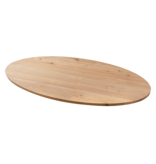 Balemo Ovale eikenhouten eettafel Balemo xx-poot 10x10