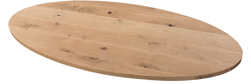 Balemo Ovaler Eiche Esstisch Balemo xx-Bein 10x4