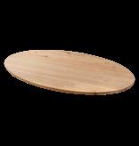 Balemo Ovale eikenhouten eettafel Balemo xx-poot Gap