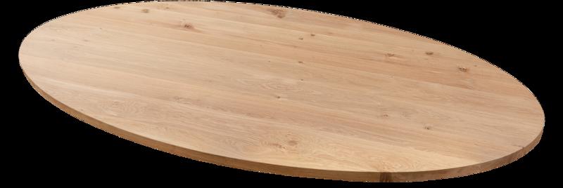 Balemo Ovale eikenhouten eettafel Balemo Felix