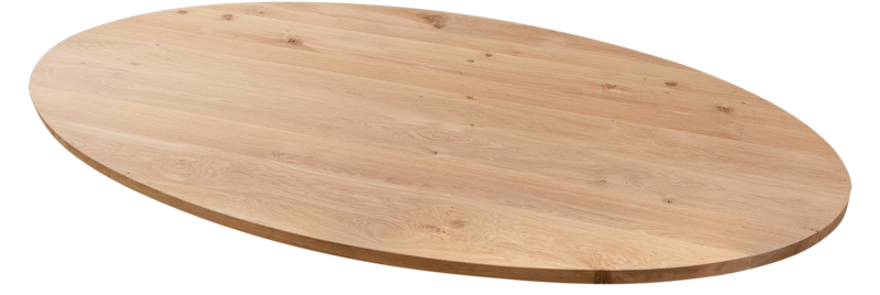 Balemo Ovale eikenhouten eettafel Balemo Xavier