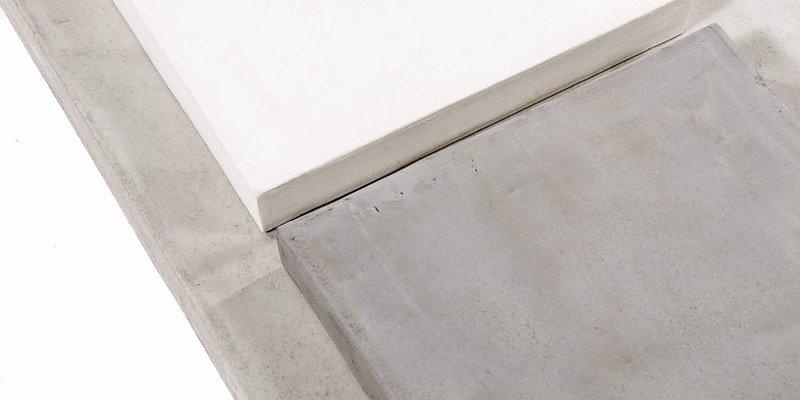 Balemo Ovale eettafel Beton xx-poot 10x4