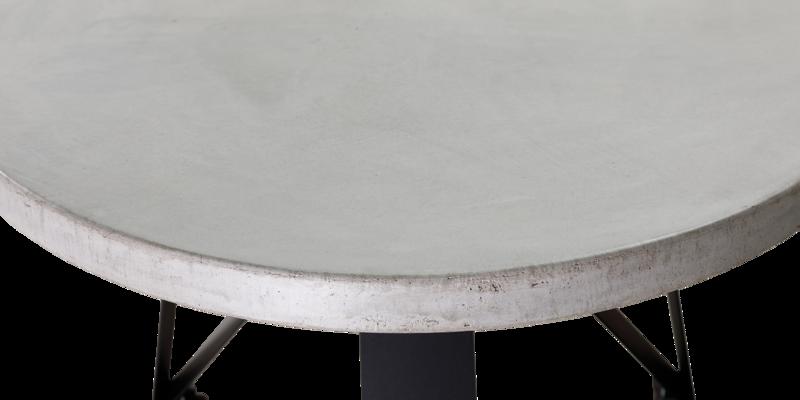 Balemo Ovaler Esstisch Beton Felix