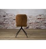Sidd Altura stoel - fabric Houston 215 cognac