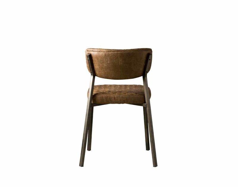Sidd Altea stoel - T-cognac