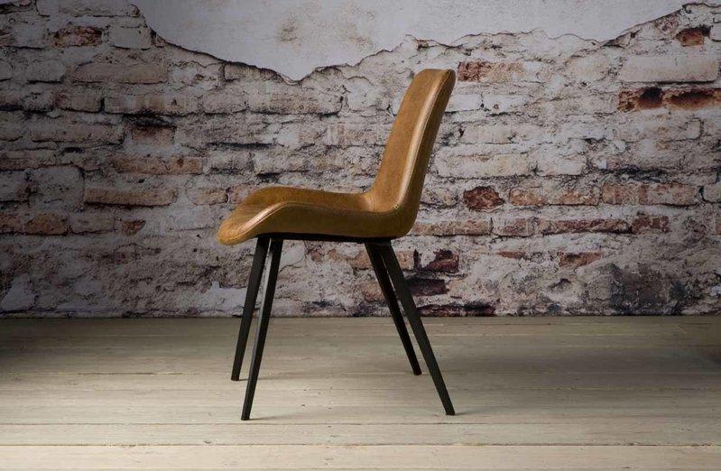 Sidd Almeria stoel - light brown