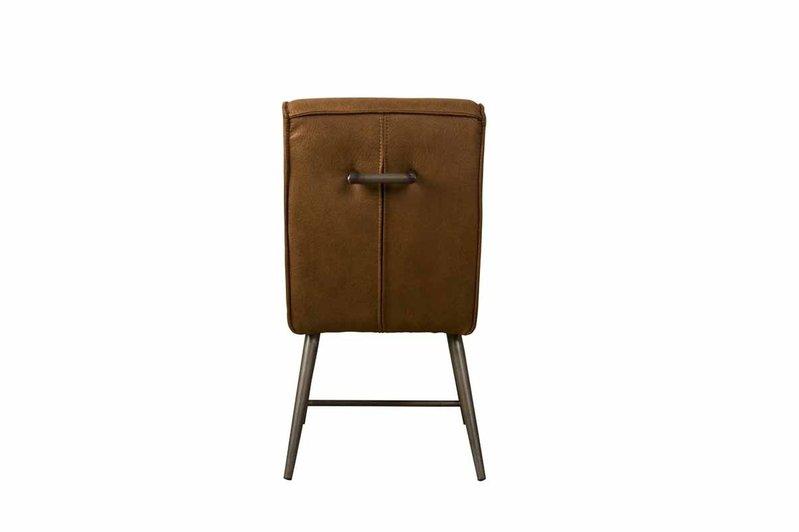 Sidd Belmonte stoel - cherokee 8 cognac