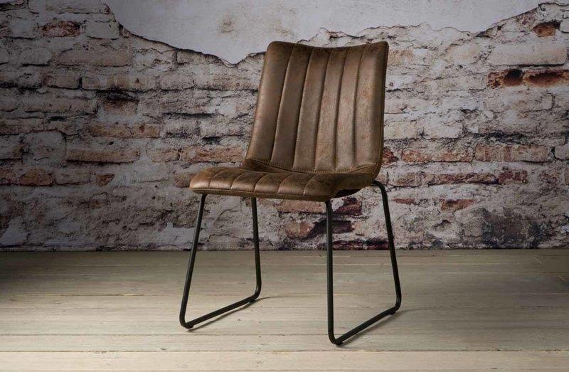 Sidd Bunol stoel - dark brown