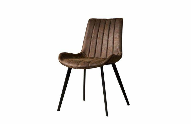 Sidd Eljas stoel - dark brown