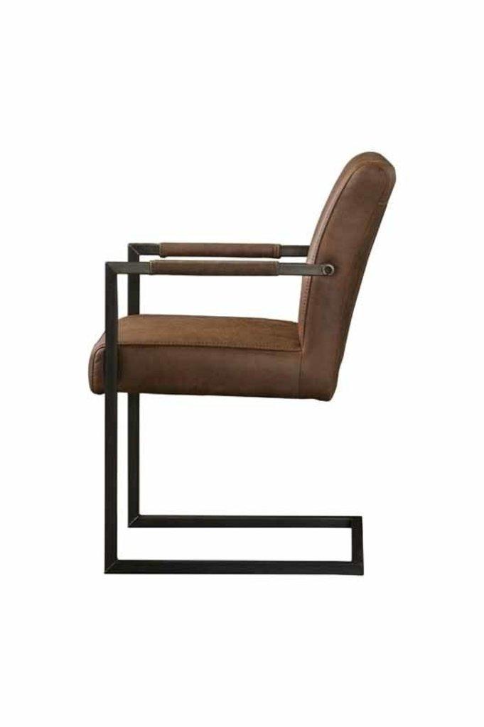 Sidd Ferro armstoel - light brown