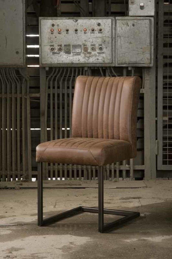 Sidd Ferro stoel - light brown