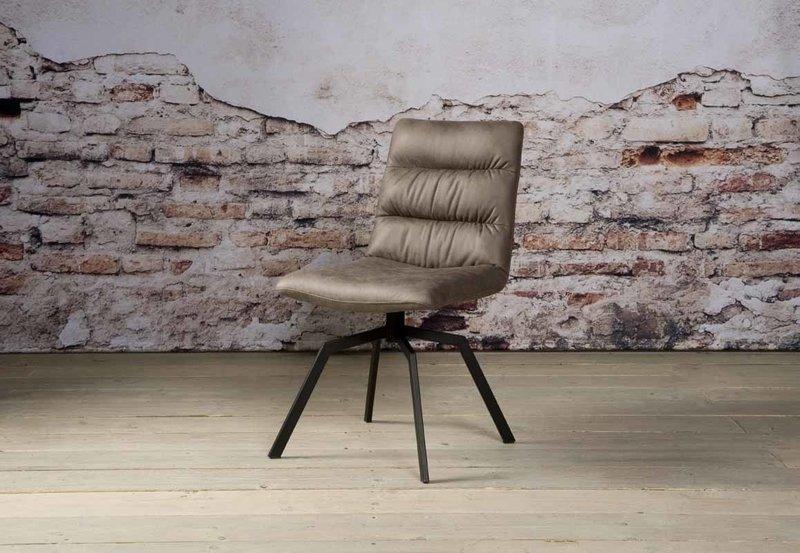 Sidd Granada stoel - middle grey