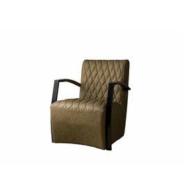 Sidd León stoel - Vintage brown