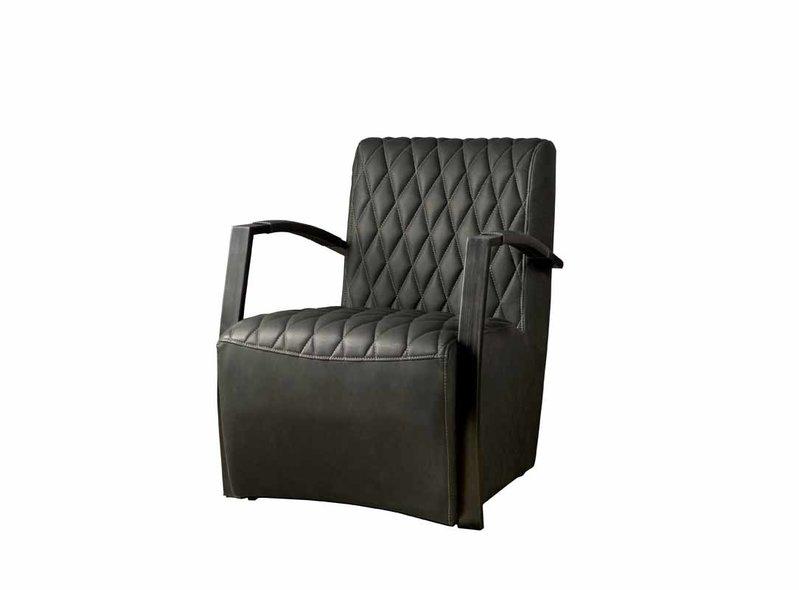 Sidd León stoel - Vintage antracite