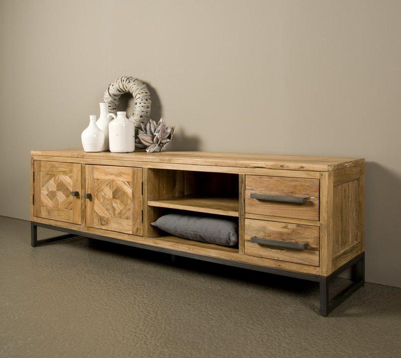 Toff Mascio tv-meubel 2 deuren - 2 laden