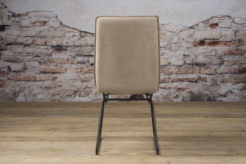 Sidd Vitoria stoel - PU taupe