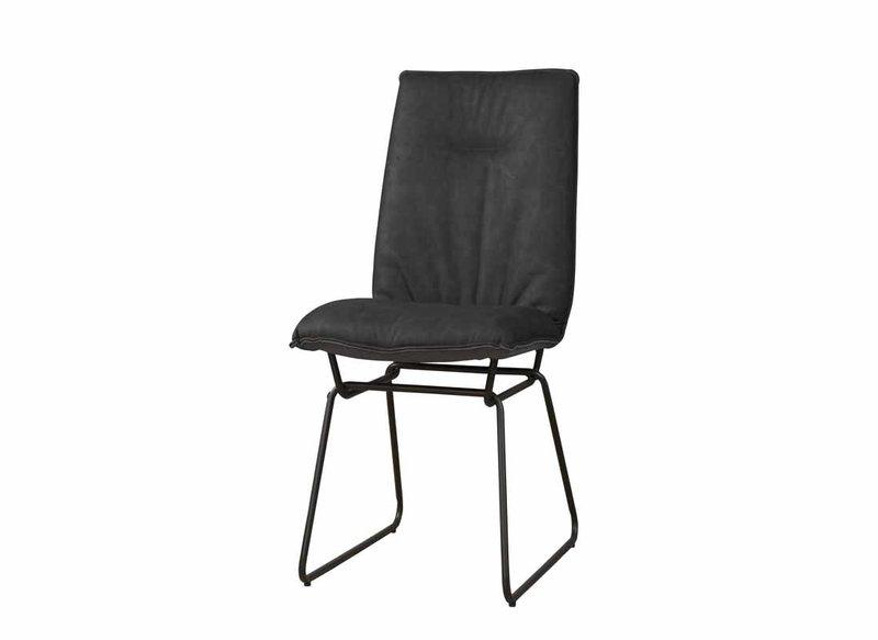 Sidd Vitoria stoel - PU anthracite
