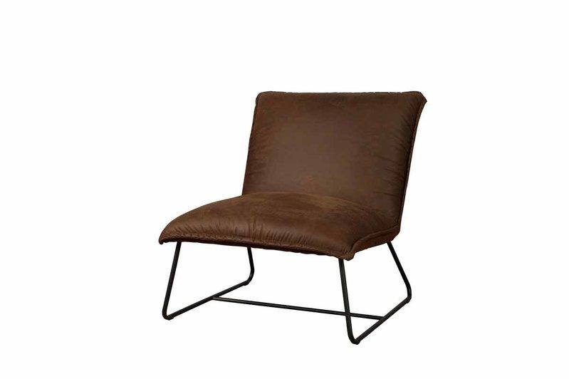 Sidd Vilar stoel - amazon 9 cognac