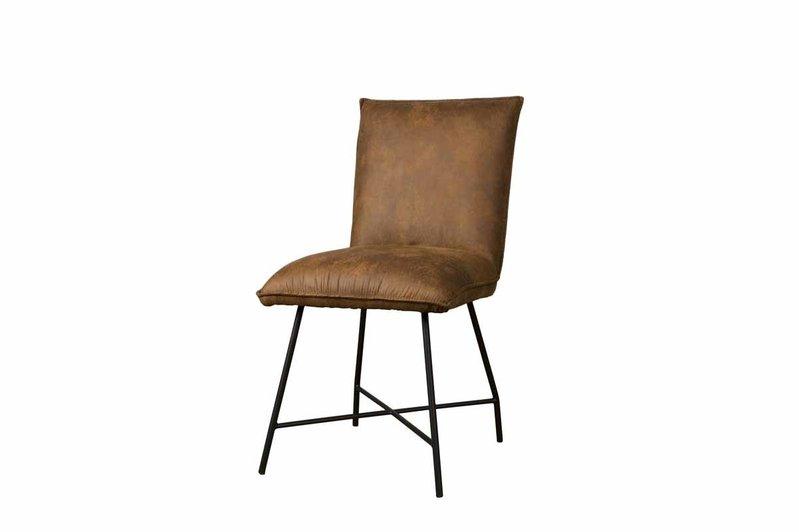 Sidd Trofa stoel - amazon 9 cognac