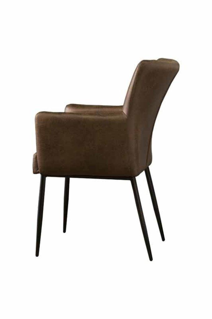 Sidd Toledo armstoel - light brown