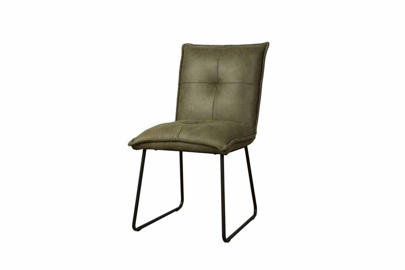 Sidd Seda stoel - fabric cherokee 13 green