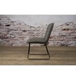 Sidd Seda stoel - fabric cherokee 1 grey