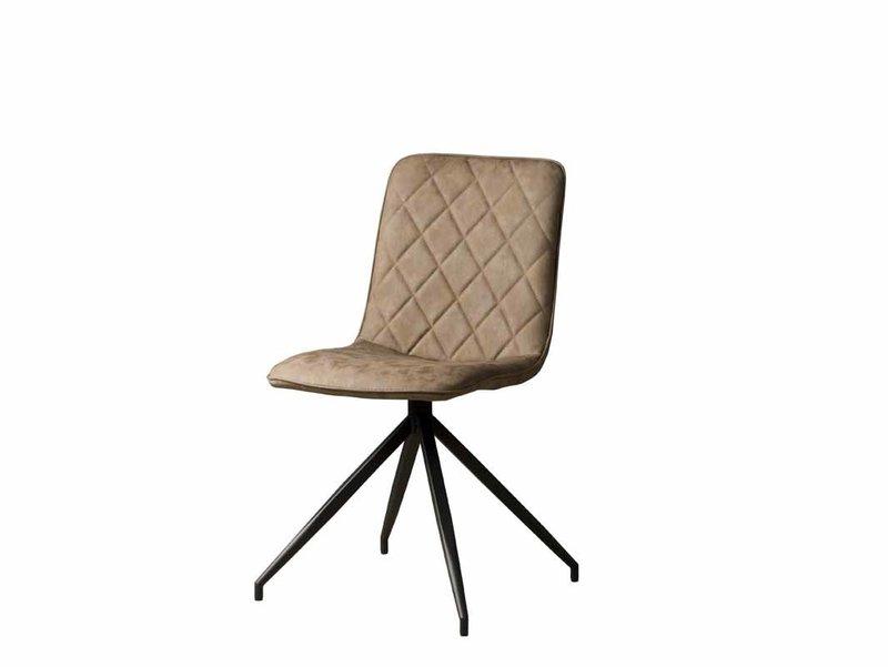 Sidd Santander stoel - PU taupe