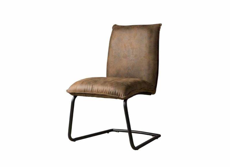 Sidd Pinto stoel - dark brown