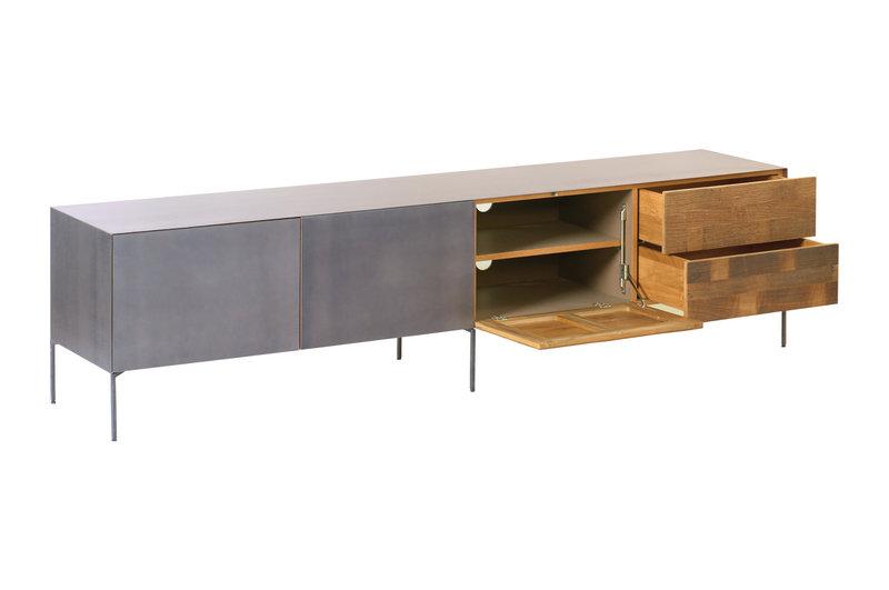 Toff Pandora tv-meubel  1 deurklep - 2 laden